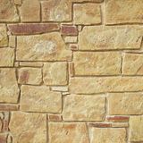 Decorative stone wall surface Royalty Free Stock Images
