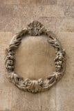 Decorative stone wreath Royalty Free Stock Photos