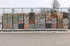 Decorative stones Royalty Free Stock Photography