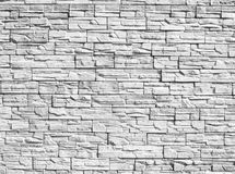 Decorative stones wall Royalty Free Stock Images