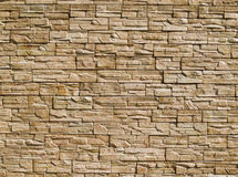 Decorative stones wall Stock Photo