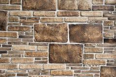 Decorative stones wall Royalty Free Stock Image