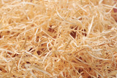 Decorative straw closeup Royalty Free Stock Image