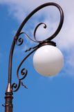 Decorative street lamp Stock Images