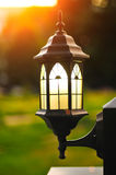 Decorative street lamp Royalty Free Stock Images