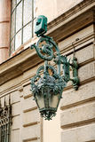 Decorative street lamp Stock Photos