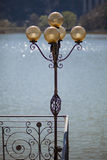 Decorative street lamp Stock Image