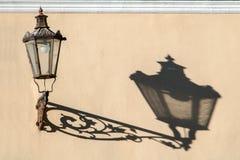 Decorative street lamp Royalty Free Stock Photos