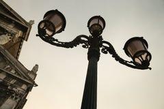 Decorative street lamp in Venice. Stock Photos