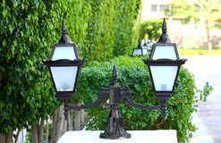 Decorative street light Stock Photos