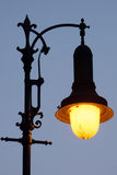 Decorative street light stock photography