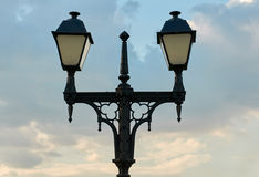 Decorative street light Stock Images