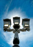 Decorative street lights Royalty Free Stock Photo