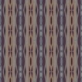 Decorative striped pattern in organic colors Stock Image