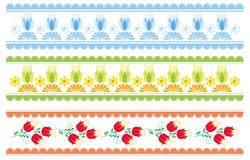 Decorative strips Stock Images