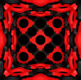 Decorative structural design backgrounds. 3D illustration. Decorative structural design backgrounds. Art object. 3D illustration royalty free illustration