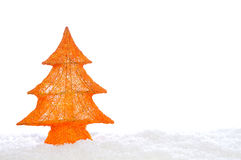 Decorative stylish christmas tree Royalty Free Stock Image