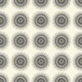 Decorative sun pattern Royalty Free Stock Photo
