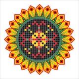 Decorative sunflower Stock Photos