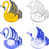 Decorative Swan Royalty Free Stock Image
