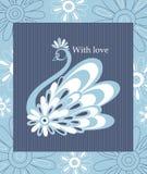 Decorative  swan Stock Image