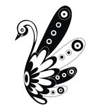 Decorative  swan Royalty Free Stock Photos