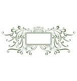 Decorative Swirl Frame C Stock Photos