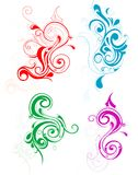 Decorative swirls Stock Photo