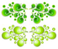 Decorative Swirls Spirals 1 Stock Image