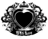 Decorative symbol of Love Stock Photo