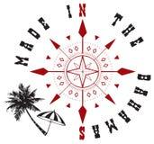 Decorative symbol Made to Bahamas Stock Photo