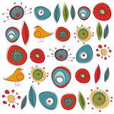Decorative symbols vector Stock Photos
