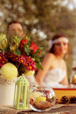 Decorative table Stock Photo