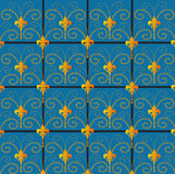 Decorative tapestry pattern Royalty Free Stock Photography