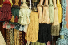 Decorative tassels Royalty Free Stock Photography