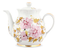Decorative teapot Stock Photography