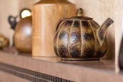 Decorative teapot Stock Images