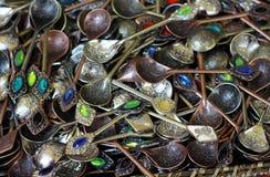 Decorative teaspoon Royalty Free Stock Photo
