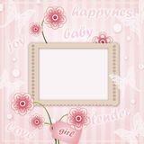 Decorative template frame Stock Photography