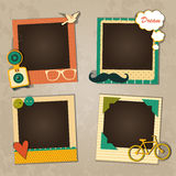 Decorative template frame Royalty Free Stock Photos
