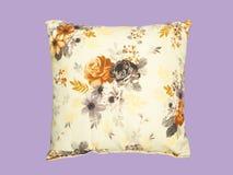 Decorative throw pillow. Stock Photo