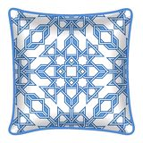 Decorative throw pillow Royalty Free Stock Photo