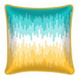 Decorative throw pillow Stock Images