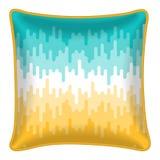 Decorative throw pillow Stock Images