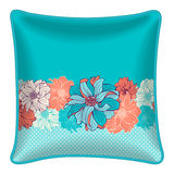 Decorative throw pillow Stock Image