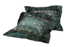 Decorative Throw Pillows Stock Photo