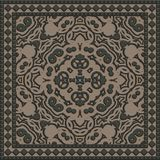 Decorative tile generated texture Royalty Free Stock Images