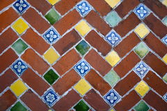 Decorative tile in Mexico Stock Image