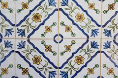 Decorative tile Royalty Free Stock Image