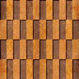 Decorative tile pattern - seamless background - Carpathian Elm wood texture Stock Image